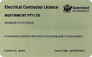 Kenros Licence to 30 June 2021